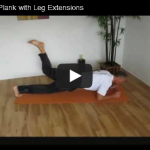 Front Plank with Leg Extensions