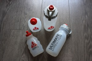 Ultimate Direction water bottles