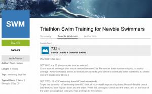 Triathlon Swim Training for New Swimmers