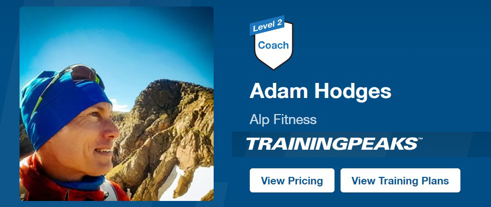 Alp Fitness training plans by Adam Hodges on TrainingPeaks